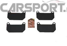 Zestaw podkładek klocka hamulcowego Subaru do Impreza STI