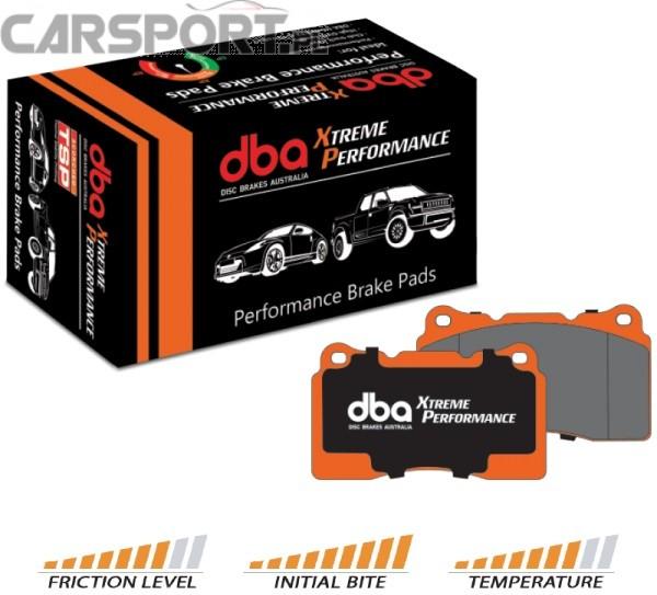 Klocki hamulcowe DBA Xtreme Performance Subaru Impreza WRX STI (Przód)