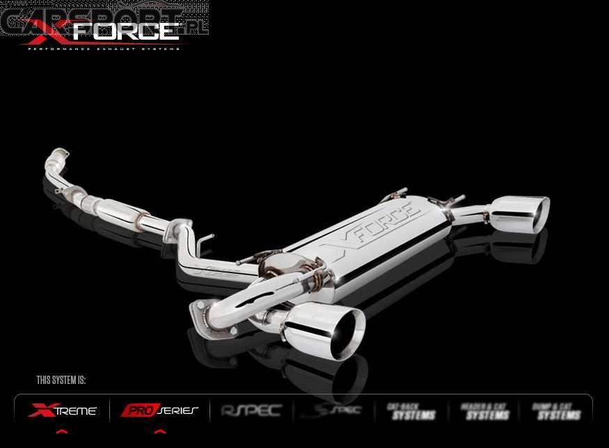 Wydech X-FORCE do Subaru BRZ