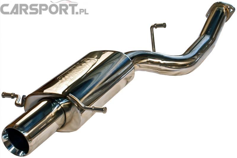 Tylny tłumik Turbo XS Impreza WRX/STI 01-07
