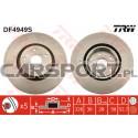 Tarcze hamulcowe TRW do Subaru Impreza Turbo WRX STi 05-07 przód