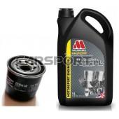 Pakiet olejowy Millers CFS 5w40 NT + filtr oleju