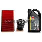 Pakiet olejowy Millers CFS 5w40 NT + filtry KNECHT