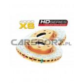 Tarcze hamulcowe nacinane DBA 4000 XS do Legacy/Forester XT/WRX/BRZ przednie